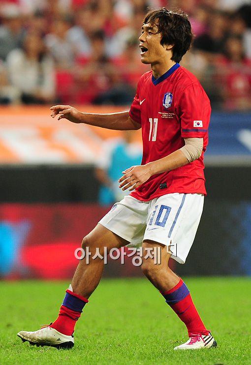 [AG]박주영 추가골..한국 2-0 팔레스타인(전반 12)