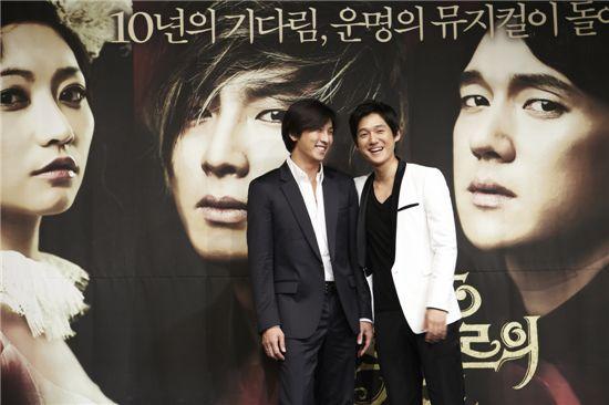 송창의·박건형 주연의 '젊은 베르테르의 슬픔' 10월 개최