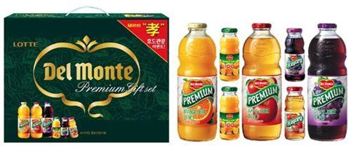 [한가위선물]롯데칠성음료, 1만~5만원대 부담없는 선물