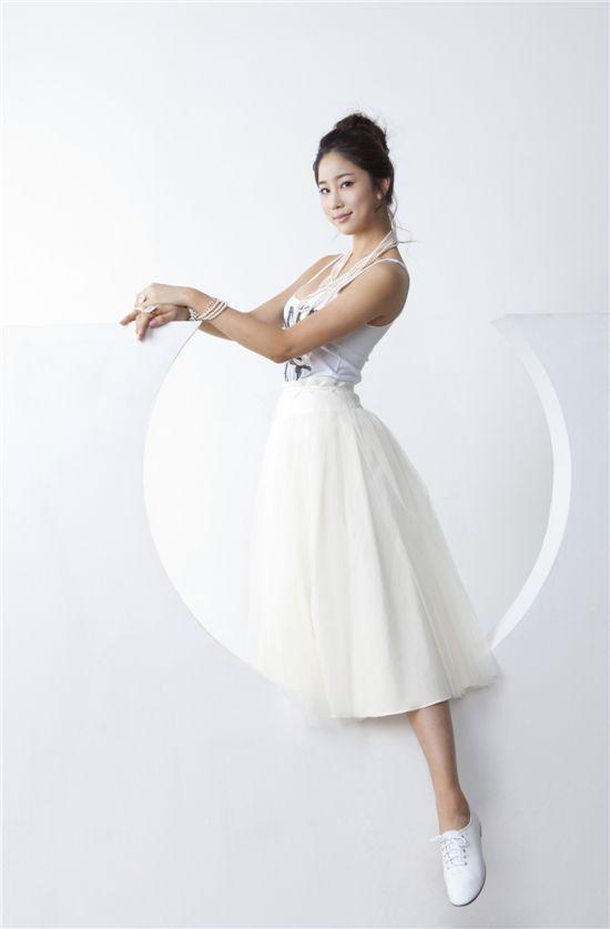 미스코리아 김주리, 2PM과 함께 발레 무대 선보여