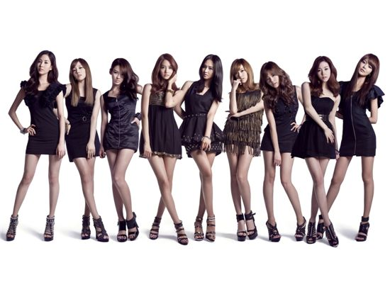 """Cover of Girls' Generation's Japanese debut single """"Genie"""" [SM Entertainment]"""