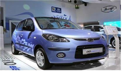 현대차의 고속 전기차 '블루온'