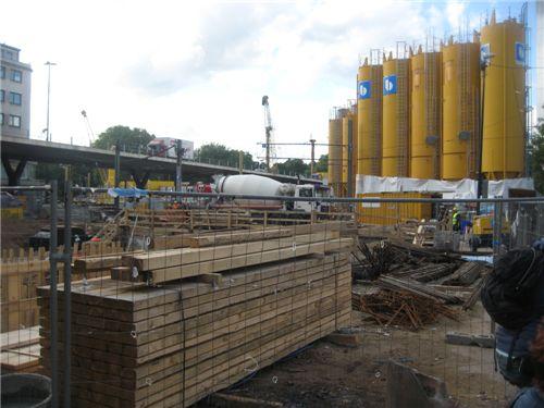 18일 독일 뒤셀도르프. 인프라 확충을 위한 공사가 곳곳에서 이뤄지고 있는 현장