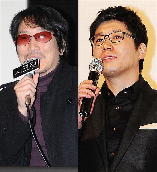 윤재구 감독(왼쪽), 강대규 감독
