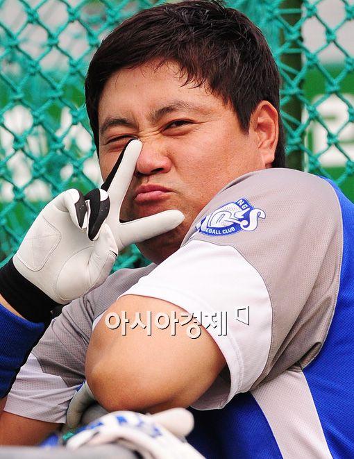 [포토]양준혁 '귀엽죠?'