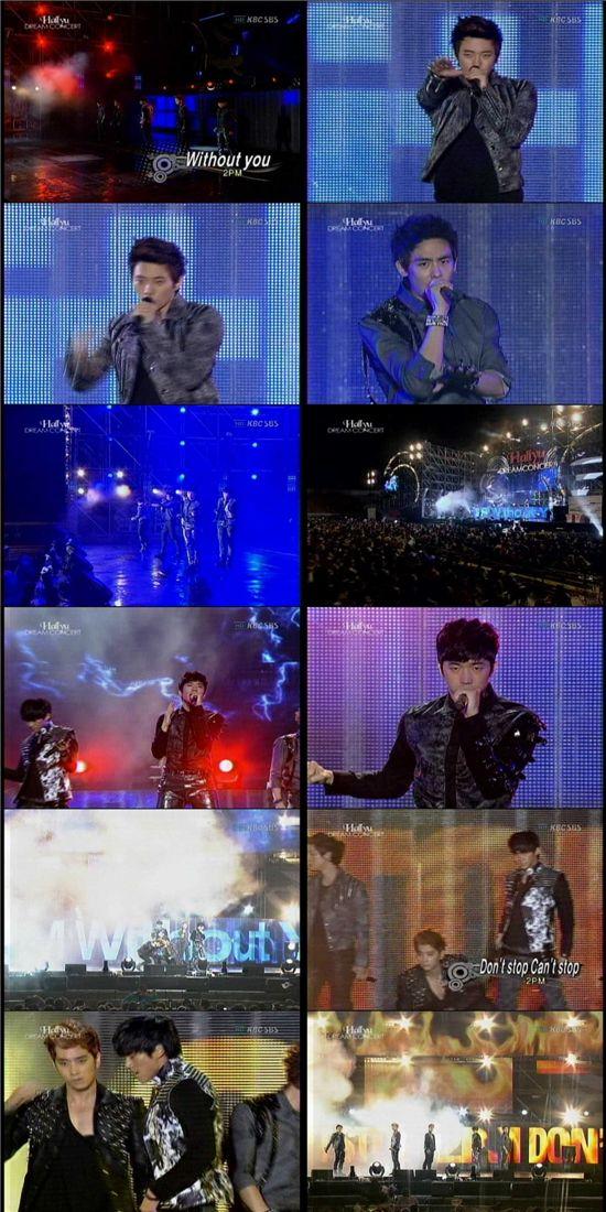짐승돌 2PM, 환상적인 군모로 한류스타 입증!
