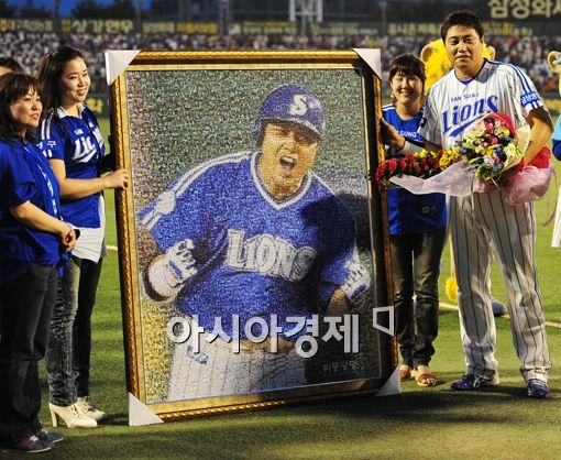 [포토]'양준혁 팬들과 함께'