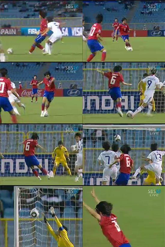 [U-17 女월드컵]이정은의 선제골 '위대한 순간'