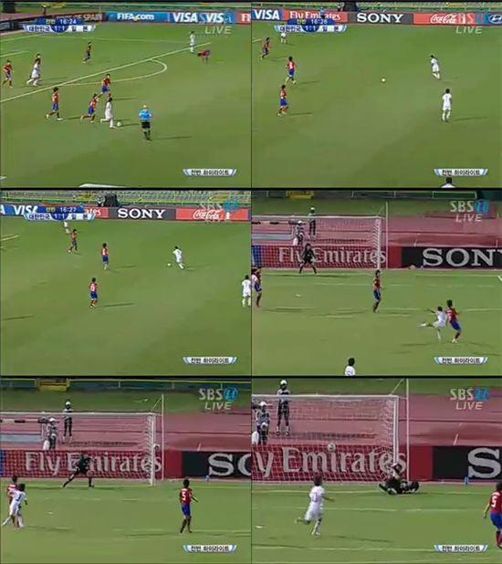 [U-17 女월드컵]다나카 역전골..한국 1-2 일본(전반 17분)