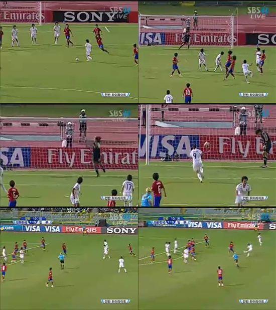 [U-17 女월드컵]日 나오모토 동점골 순간