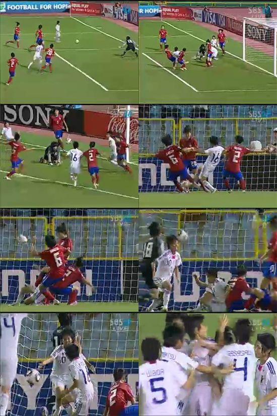 [U-17 女월드컵]日 가토 추가골..'아쉬운 순간'