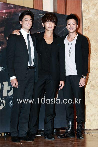 Daniel Henney, Rain, Lee Jung-jin [Lee Jin-hyuk/10Asia]