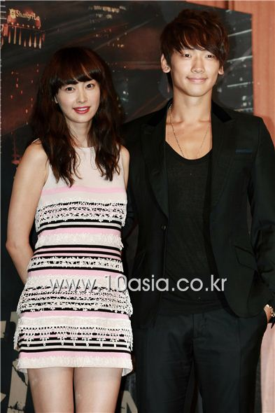 Lee Na-young and Rain [Lee Jin-hyuk/10Asia]