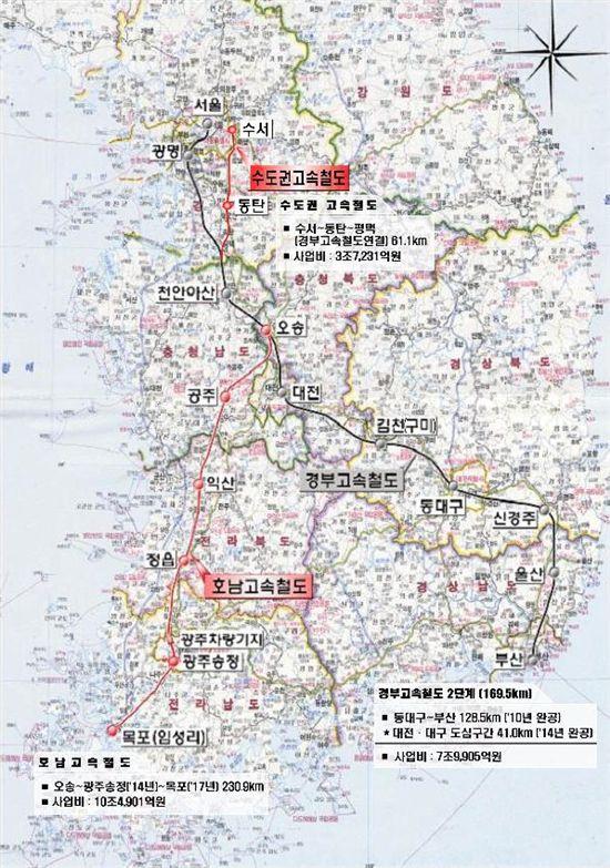 11월1일부터 '서울-부산' 22분 단축된다