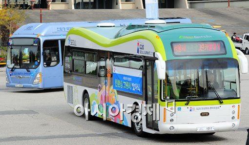 [포토] 도로 주행하는 G20정상회의 전기차