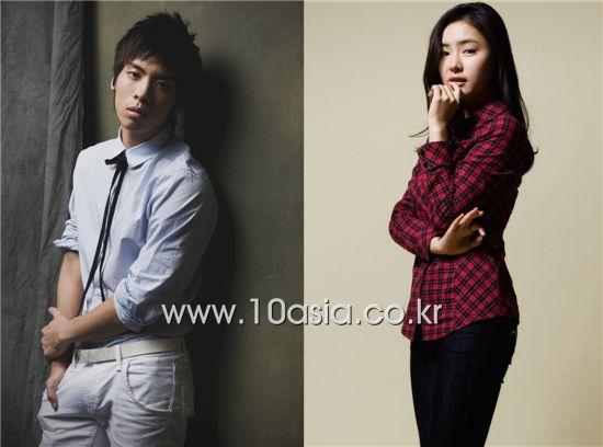 Boy band SHINee member Jonghyun and actress Sin Se-gyeong [10Asia]