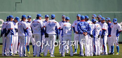 [포토]2010 광저우 아시안게임 야구 대표팀