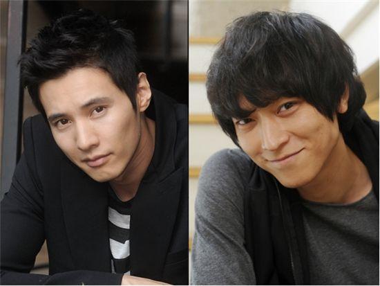 원빈(왼쪽), 강동원