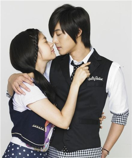 """Poster for TV series """"Naughty Kiss"""" [MBC]"""