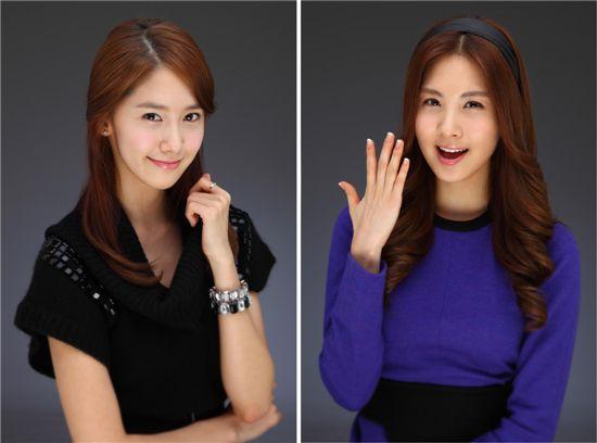 Girls' Generation members Yoona and Seohyun [SM Entertainment]