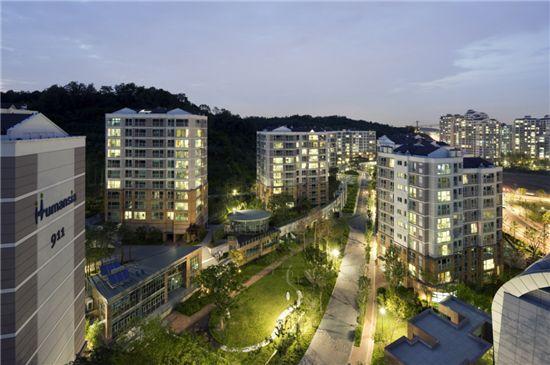 제5회 생태환경건축대상에서 대상을 수상한 성남판교휴먼시아