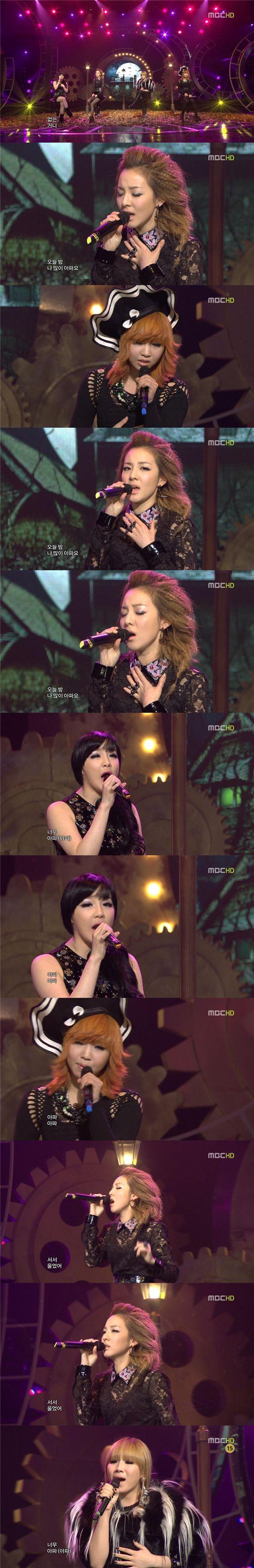 '음중' 2NE1, 'R&B 여신 완벽변신'··호흡척척 '환상하모니'