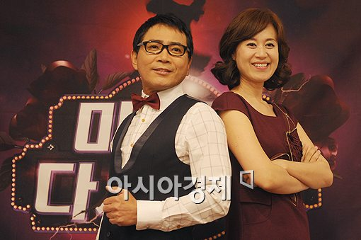 [포토]이봉원-박미선 '저희처럼 사이좋게!'