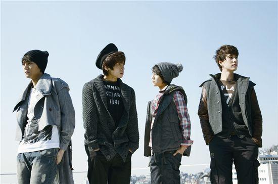 S.M. The Ballad members Jay, Jonghyun, JINO and Kyuhyun [SM Entertainment]