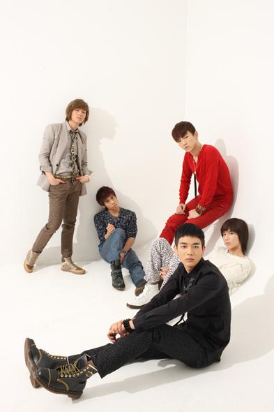 Korean boy band SHINee [SM Entertainment]