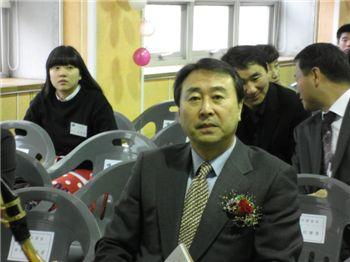 대전시장 표창장을 받은 임승주 소장.