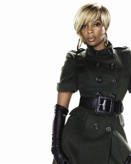 Queen of hip hop soul Mary J. Blige [YESCOM]
