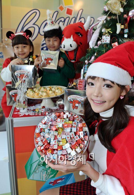 [포토]미녀 산타와 벨큐브 크리스마스!