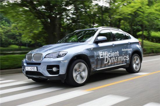 BMW 액티브하이브리드 X6