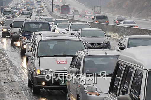 [포토]'연비운전은 여유로워'