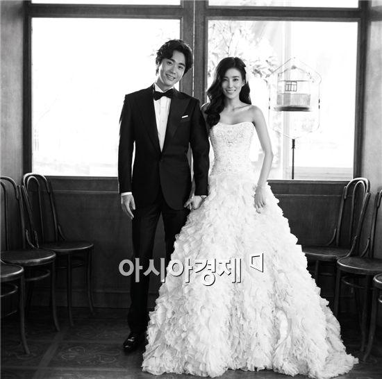 조성모·구민지, 오늘(27일) 결혼···행복한 웨딩사진 공개