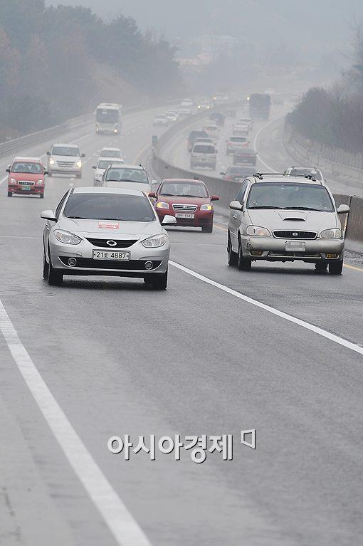 [포토]'한적한 고속도로에서는 연비운전이 최고'