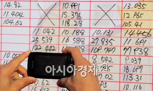 [포토] '내 기록은 저장은 스마트폰으로~'