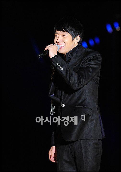 [포토]JYJ 유천, 샤방샤방 미소