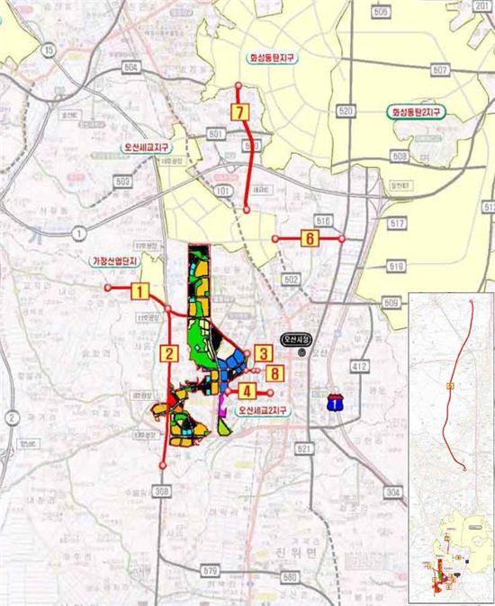 오산 세교2지구 광역교통개선대책 확정