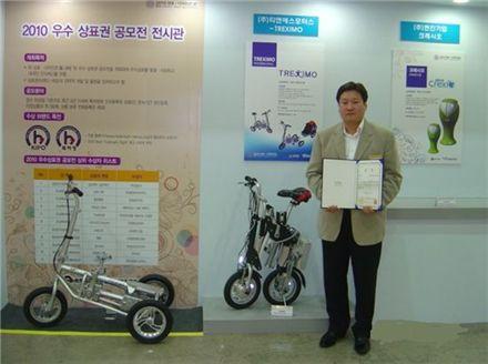 [中企히트제품] ④ 전기자전거, 3초접이식 한번충전 35km 주행