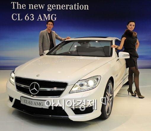 [포토] 벤츠, 강력해진 The new generation CL 63 AMG 출시