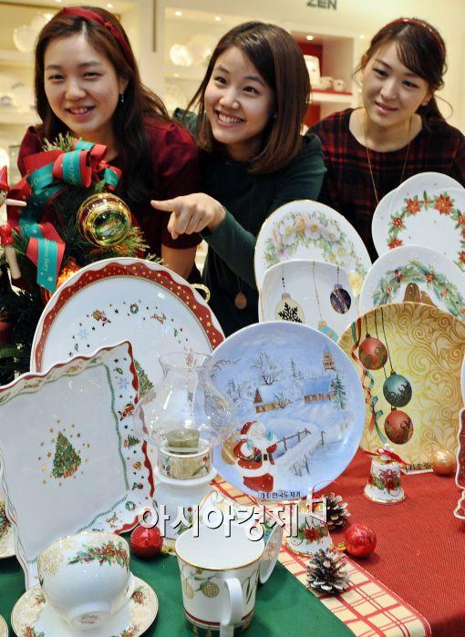 [포토]한국도자기, 성탄 선물세트 출시!