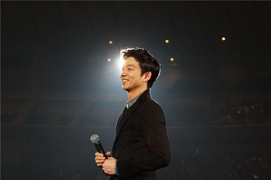 Gong Yoo at his fan meeting in Japan [N.O.A. Entertainment]