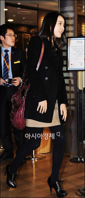 [포토]한혜진, '야차'보러 극장 나들이