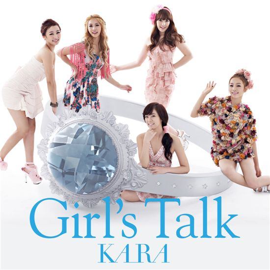 "Version B of Kara's Japanese album ""Girl's Talk"" [DSP Media]"