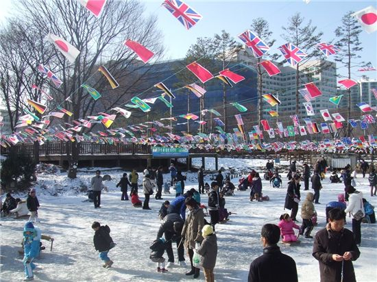 서울 어린이대공원 무료 얼음썰매장 27일 개장