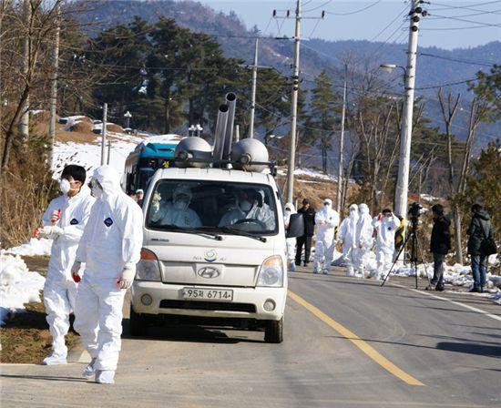 육군 35사단, AI현장에 장병 700여명 긴급투입