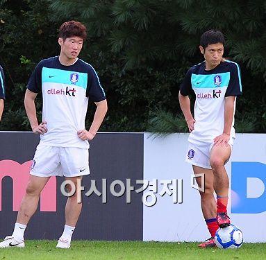 박지성-이영표, 두 '영웅'에 대한 헌정