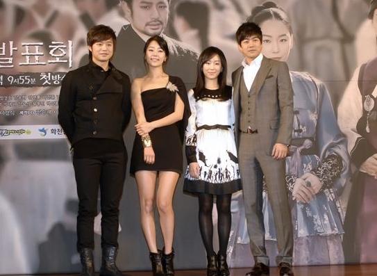 Starting from left: Chun Jung-myung, Han Ji-hye, Seo Hyun-jin and Lee Sang-yoon [MBC]