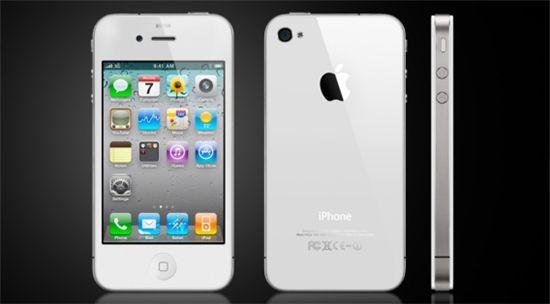 화이트 아이폰4